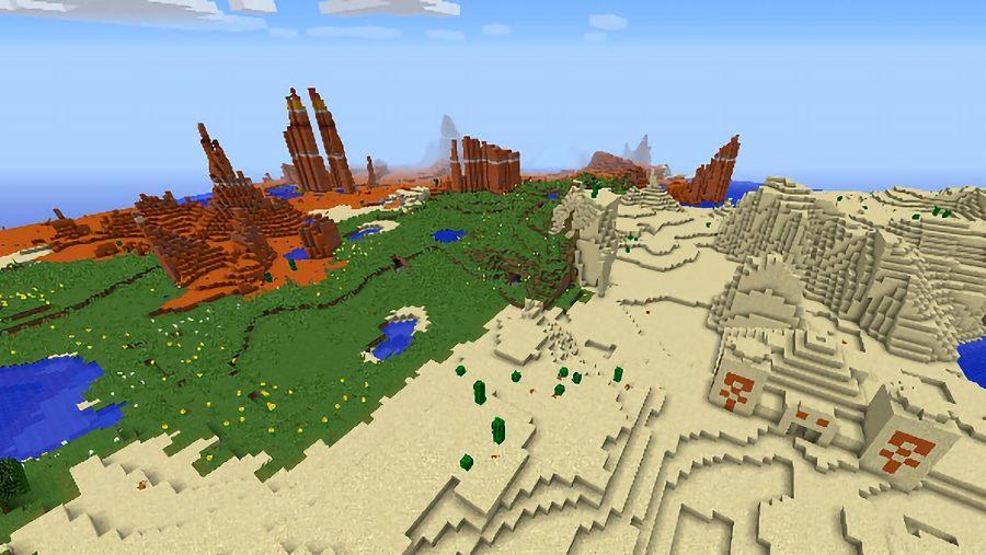 minecraft seeds 1785852800490497919