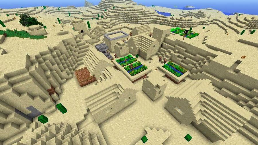 minecraft seeds Double_Village