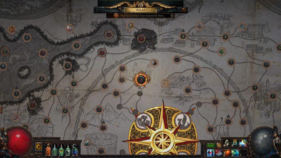 path of exile betrayal atlas