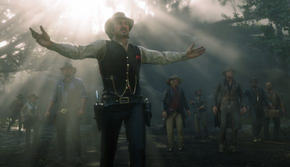 Red Dead Redemption 2 Online Release Times Console Posses Ride For
