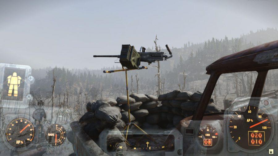 50 Cal Machine Gun location fallout 76