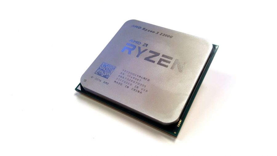 Best CPU for gaming - AMD Ryzen 3 2200G