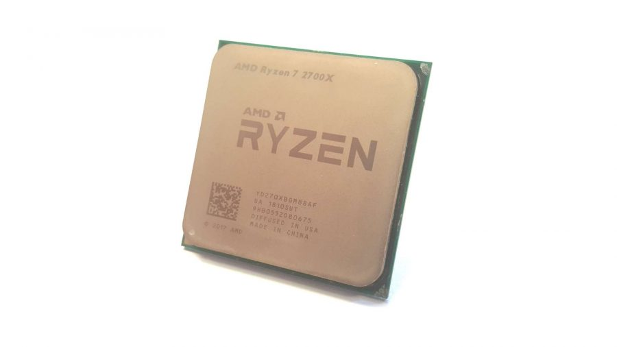 Best CPU for gaming - AMD Ryzen 7 2700X