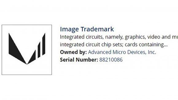 AMD image trademark Vega 2