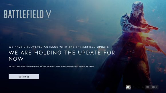 Battlefield 5 update delay
