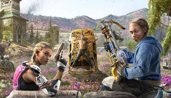 Leaked Box Art Reveals Far Cry New Dawn Ahead Of The Game Awards Pcgamesn