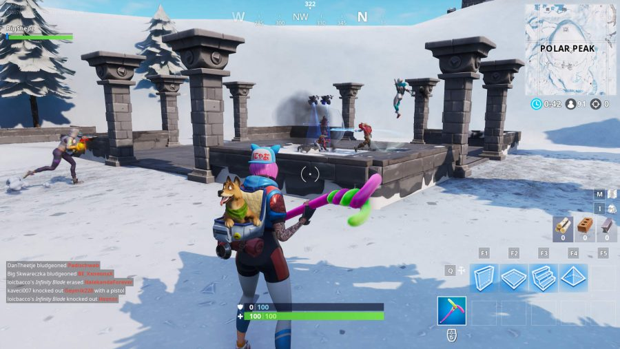 Fortnite Infinity Blade location screenshot