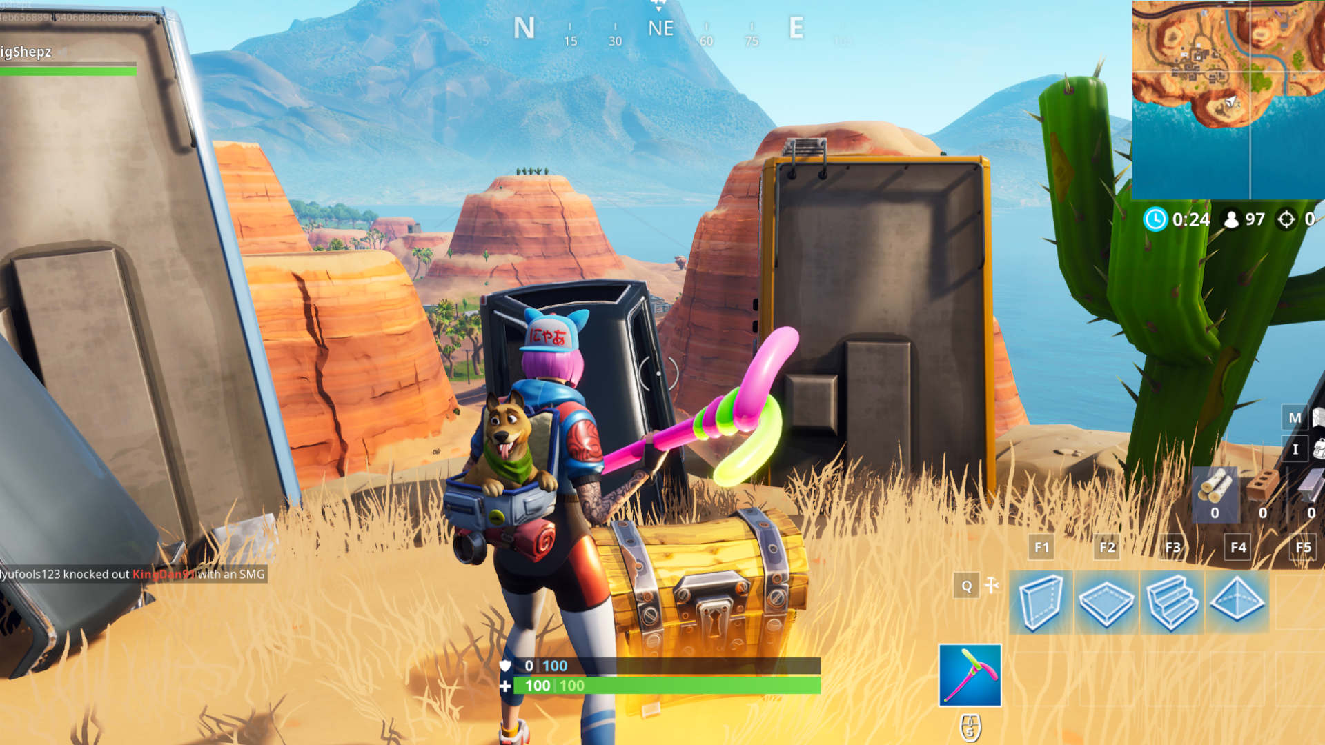 Fortnite Crown Of Rvs Location Where To Dance On Top Of A Crown Of