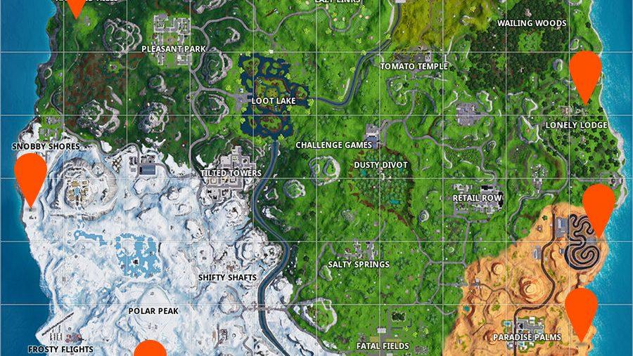 Fortnite fireworks map