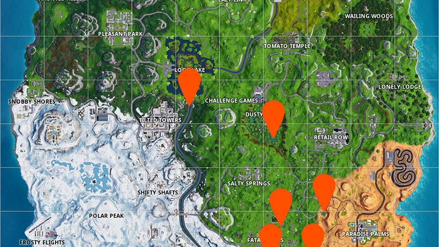 Fortnite goose egg map