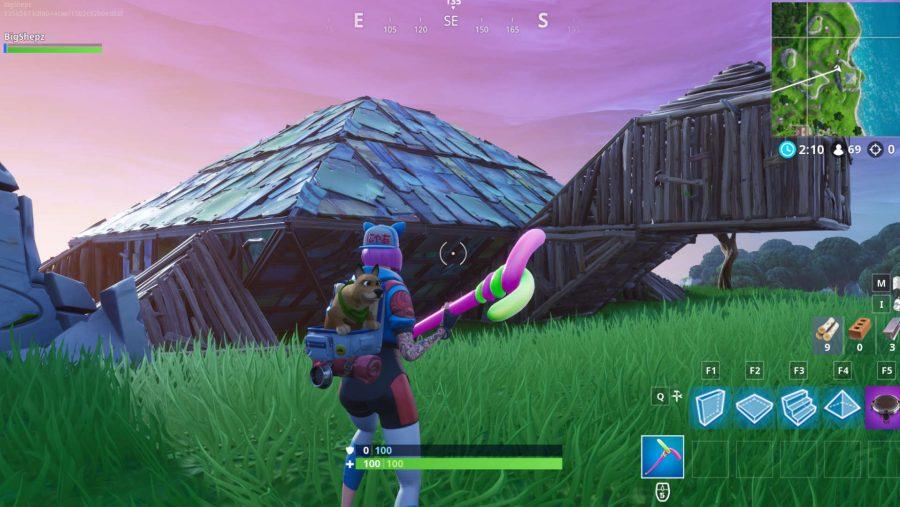 Fortnite metal turtle location screenshot