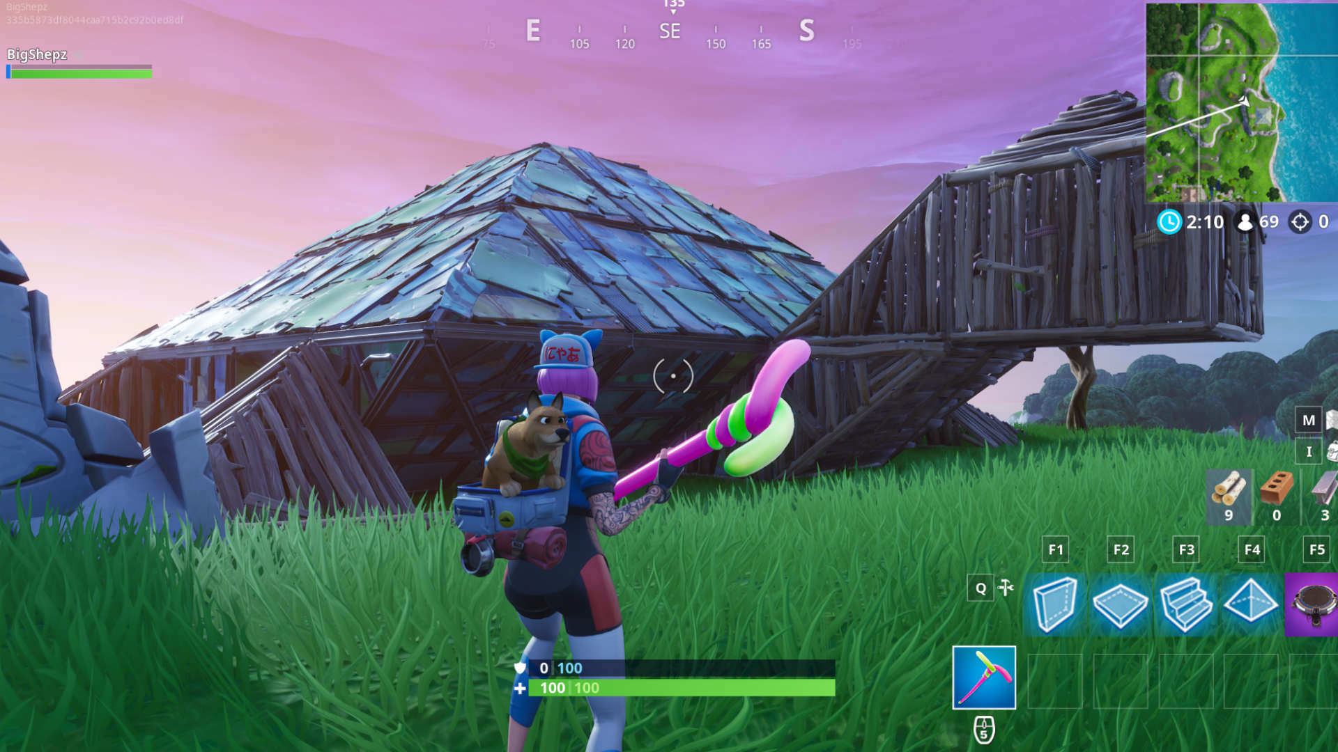 Fortnite Metal Turtle Location Where To Dance On Top Of A Metal