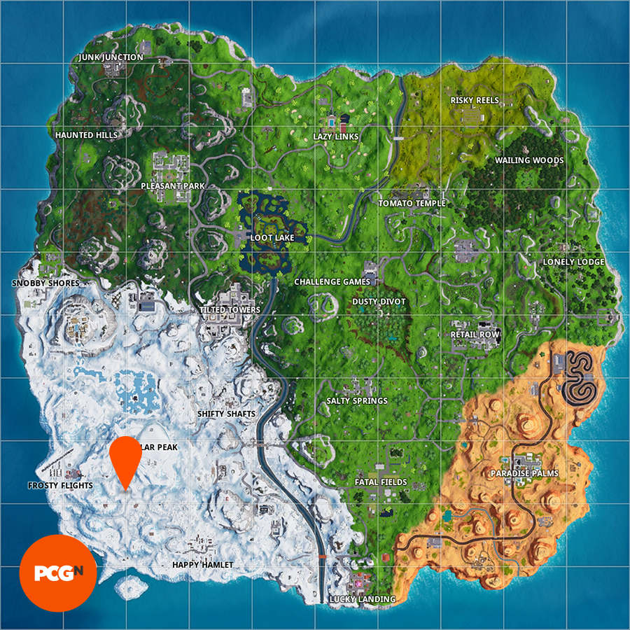 fortnite submarine location map - fortnite danser camera