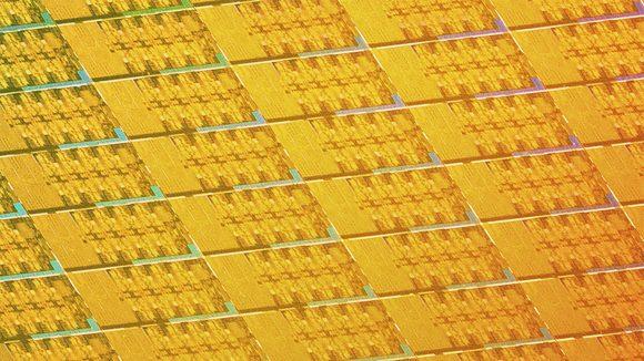 Intel CPU die