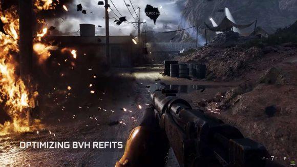 Nvidia BVH optimisations
