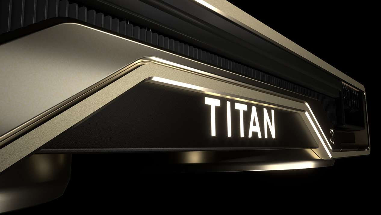 """Nvidia's Titan RTX is the """"Ultimate PC GPU """" And you thought"""