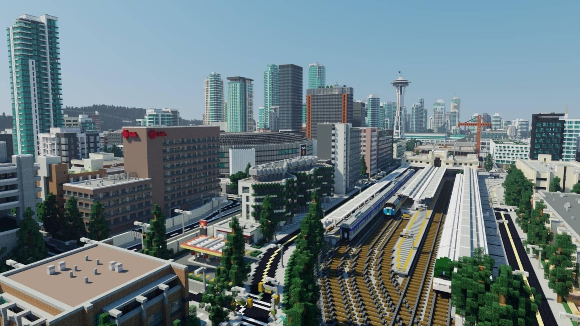 The Best Minecraft Cities Pcgamesn