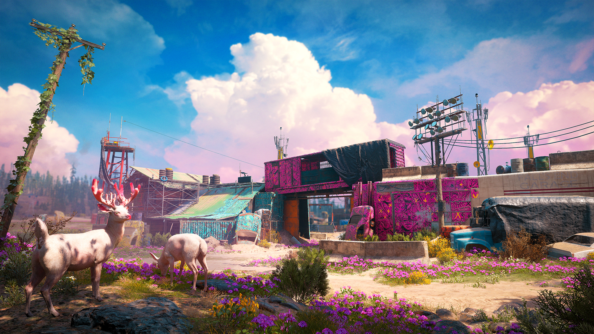 Download Wallpaper New Dawn Ubiclub: Far Cry New Dawn Takes You To Post-apocalyptic Montana
