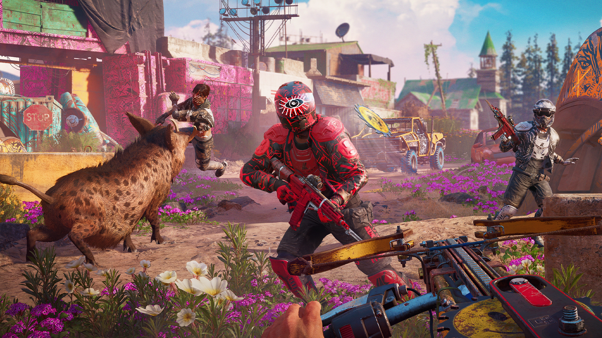 Far Cry New Dawn Takes You To Post Apocalyptic Montana This February Pcgamesn