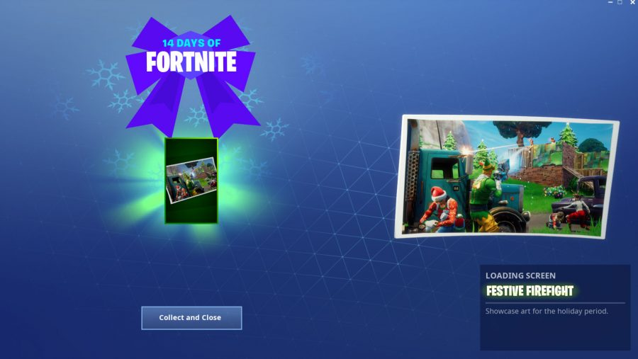 Fortnite giant candy canes locations festive firefight loading screen