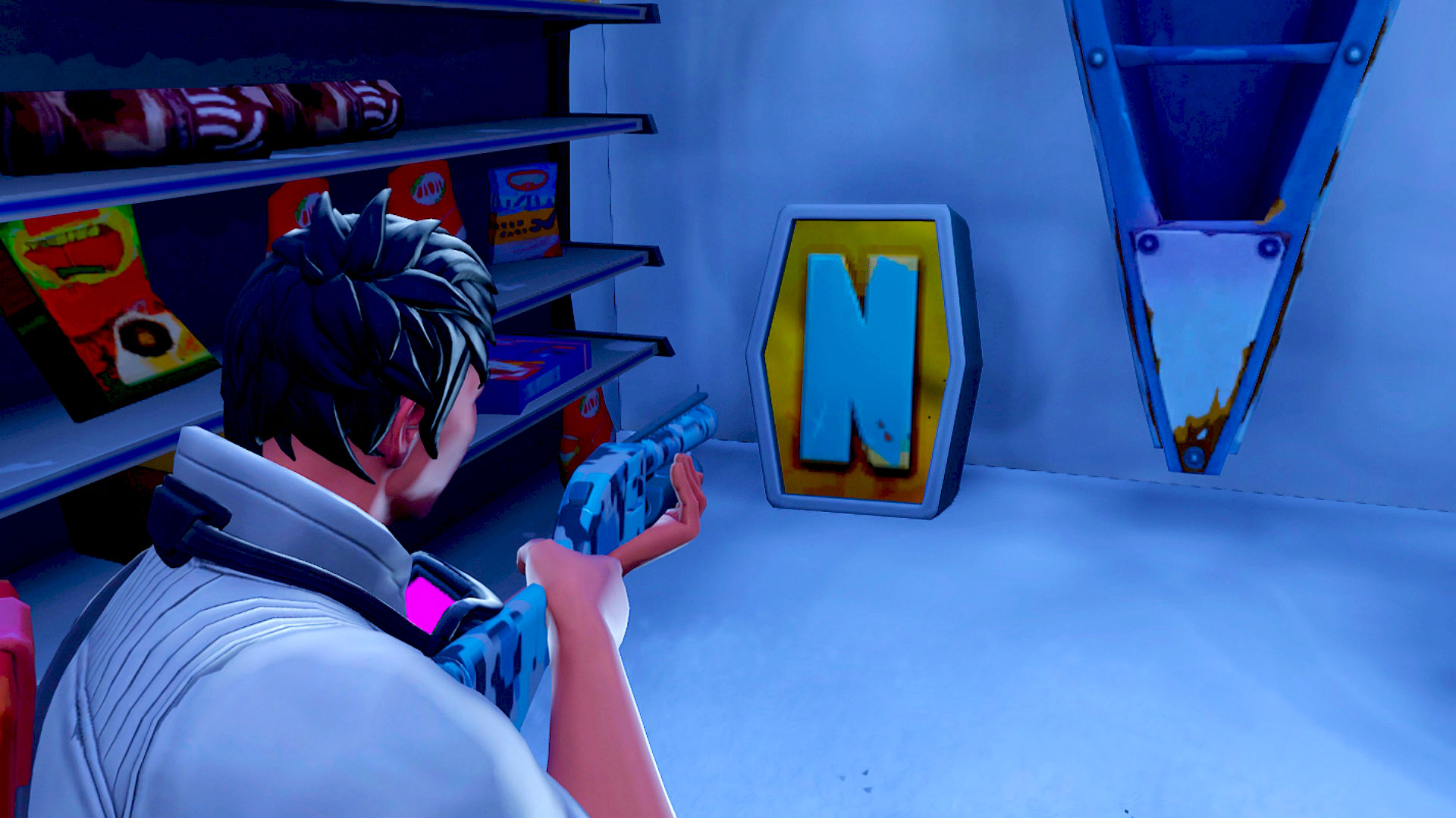 Fortnite: Where To Search The Letter N Under A Frozen Lake