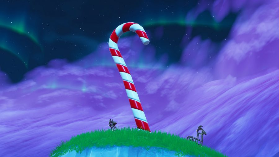 fortnite giant candy canes locations
