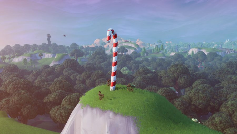 Fortnite Giant Candy Canes Locations Where To Visit Giant Candy