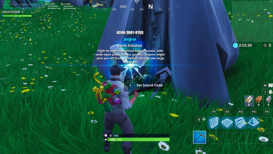Fortnite Island Codes Eerie Estates  Share Load Player