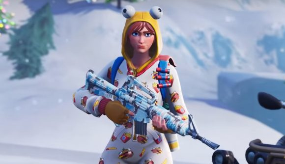 The Fortnite Season 7 Battle Pass Finally Adds Weapon Skins Pcgamesn