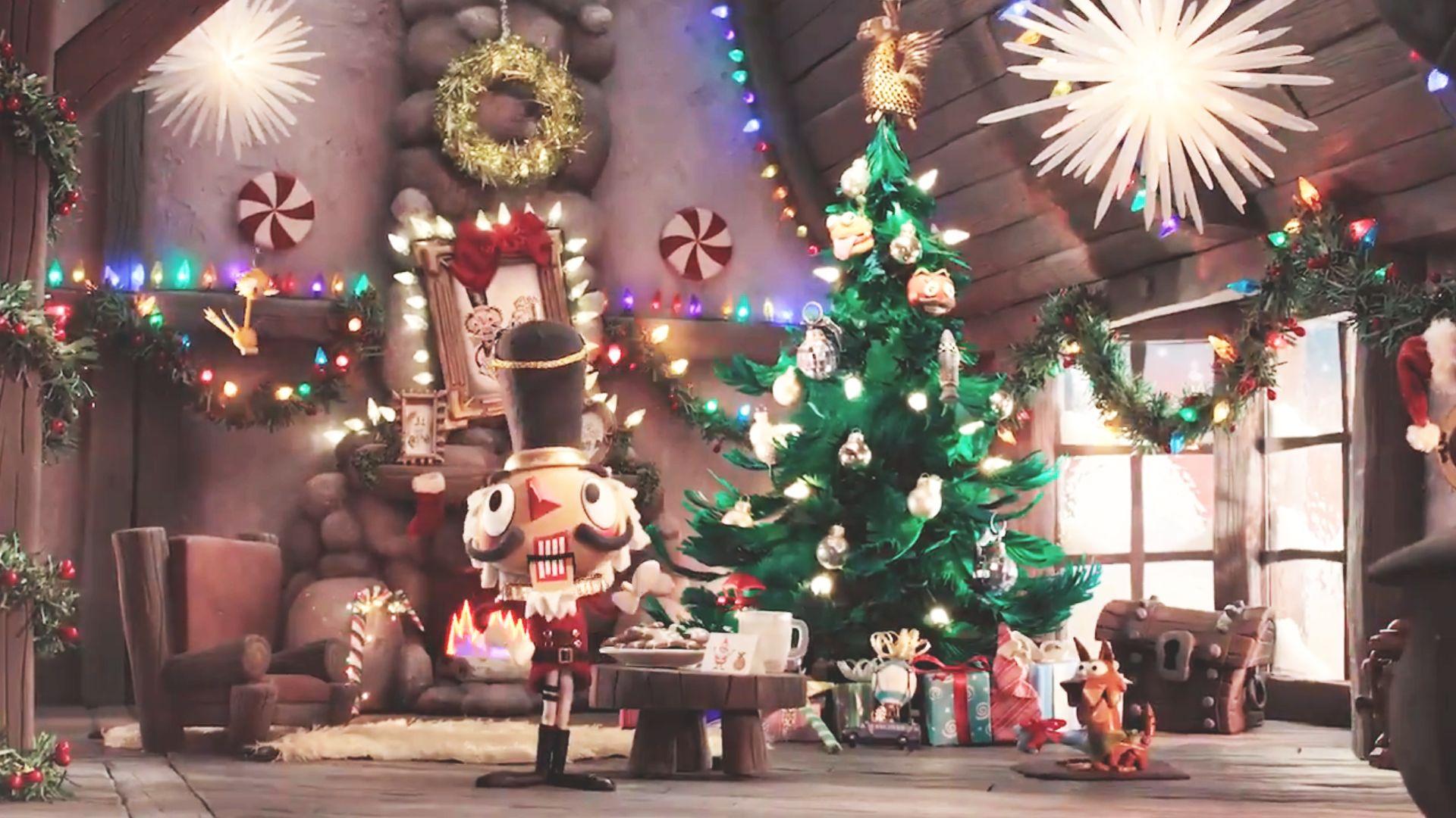 Fortnite Christmas.Crackshot Features In Fortnite S Adorable Christmas Themed