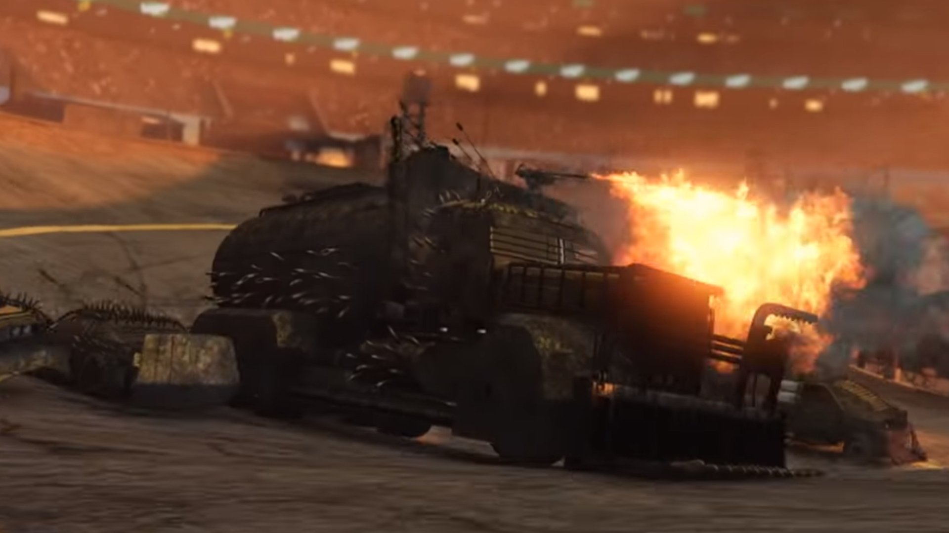 Arena War turns GTA Online into Twisted Metal | PCGamesN
