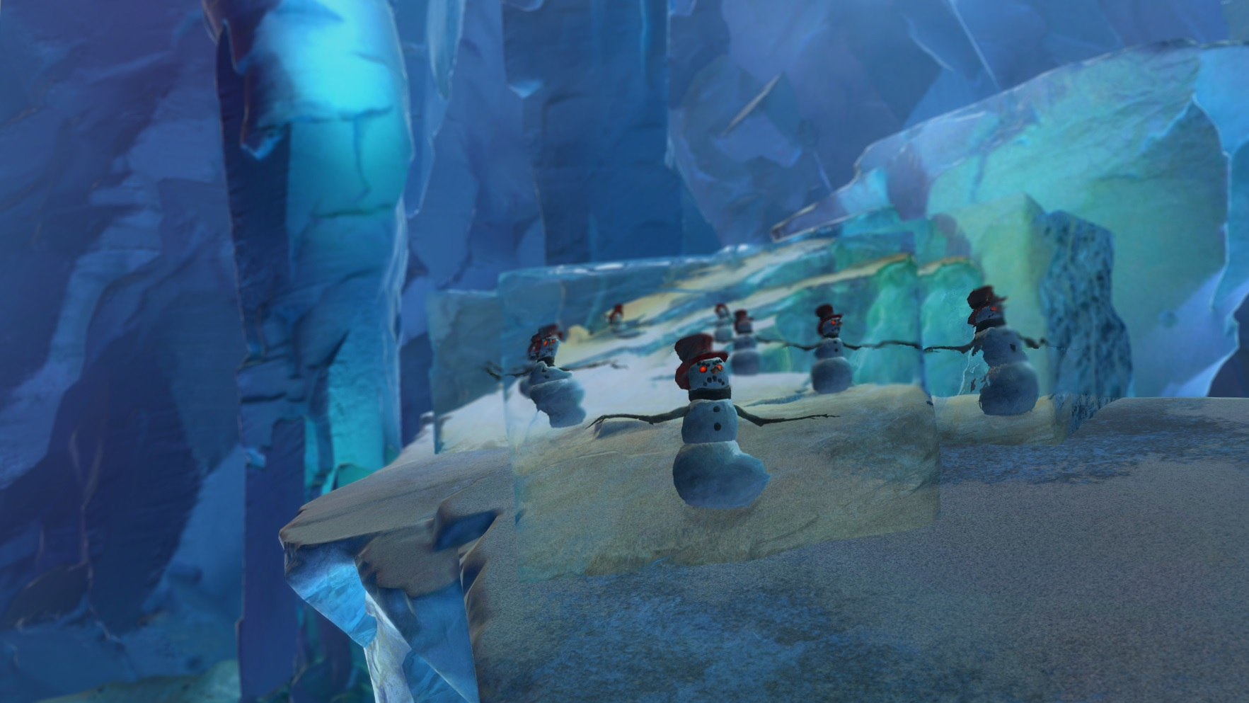 In Guild Wars 2's Wintersday you must free the snowmen from
