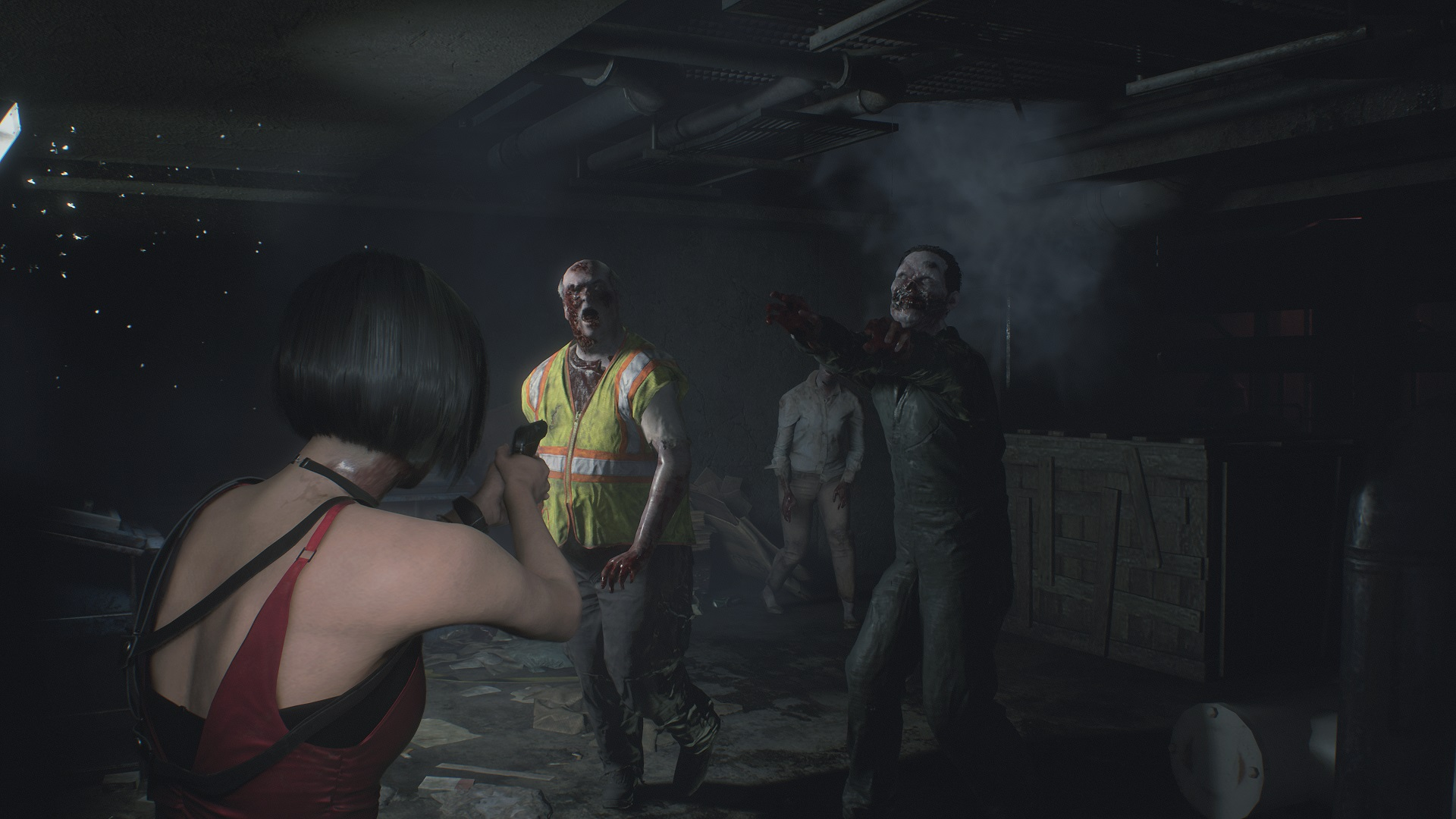 Reading Utility Body >> Resident Evil 2's horrible humans are more disgusting than its monsters | PCGamesN