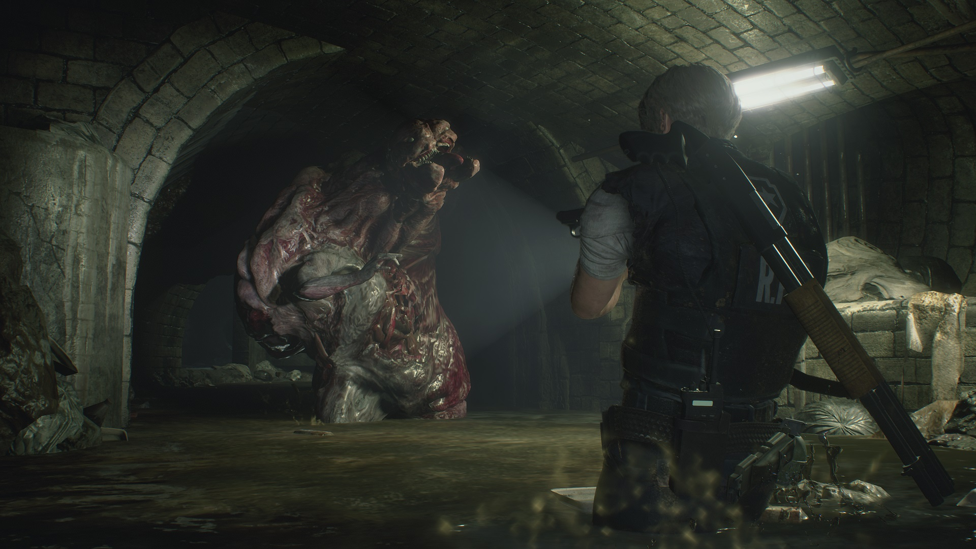 Resident Evil 2 S Horrible Humans Are More Disgusting Than Its Monsters Pcgamesn