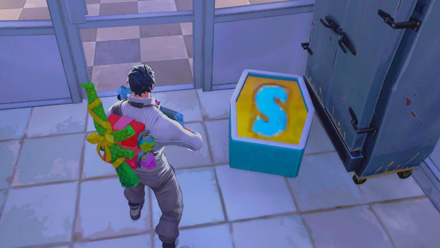 fortnite search letter s in wailing woods