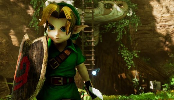 Zelda Ocarina Of Time Unreal Remake Now Has A Completely
