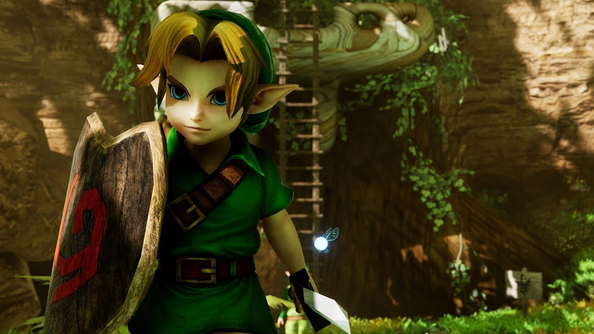 Zelda: Ocarina of Time Unreal remake now has a completely playable first dungeon | PCGamesN
