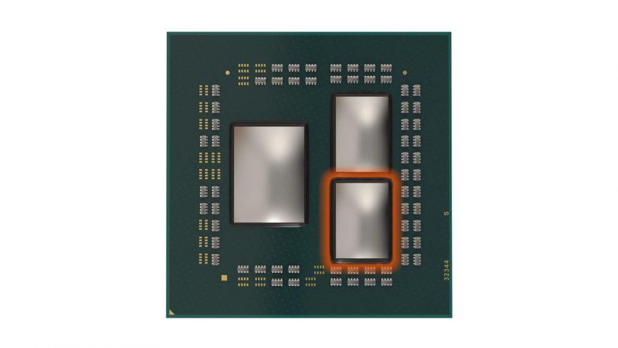 AMD 3rd Gen Ryzen chiplet