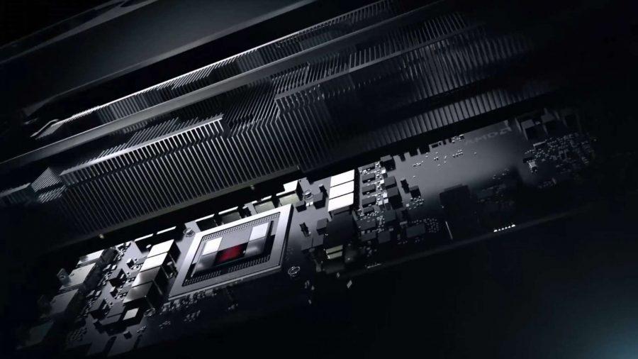 AMD Radeon VII open