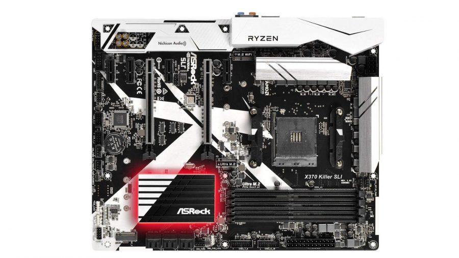 Best AMD gaming motherboard runner-up ASRock X370 Killer SLI