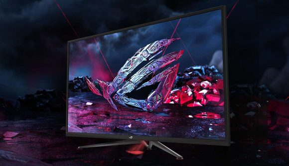 Forget Nvidia's BFGDs, Asus' 43-inch gaming monitor is the 4K panel