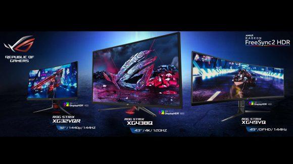Asus ROG Strix gaming monitors