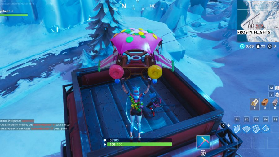 Fortnite Air Traffic Control Tower Location: Where To