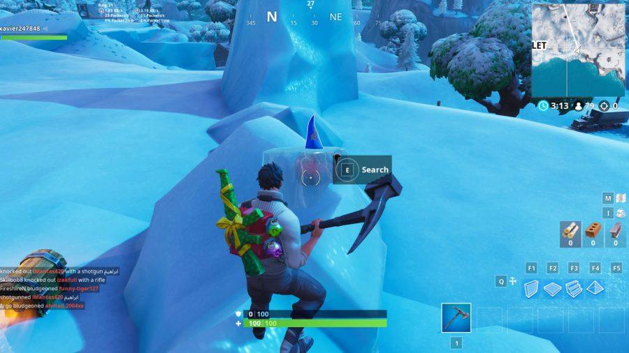 Fortnite chilly gnomes Happy Hamlet