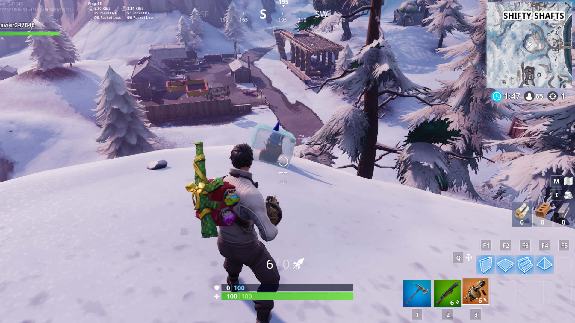 gnome in shifty shafts