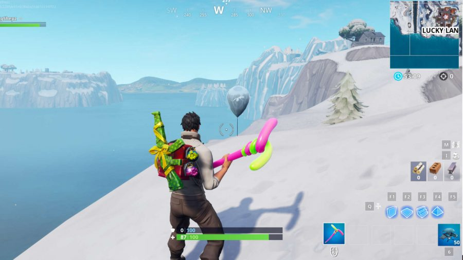 Fortnite golden balloons Lucky Landing