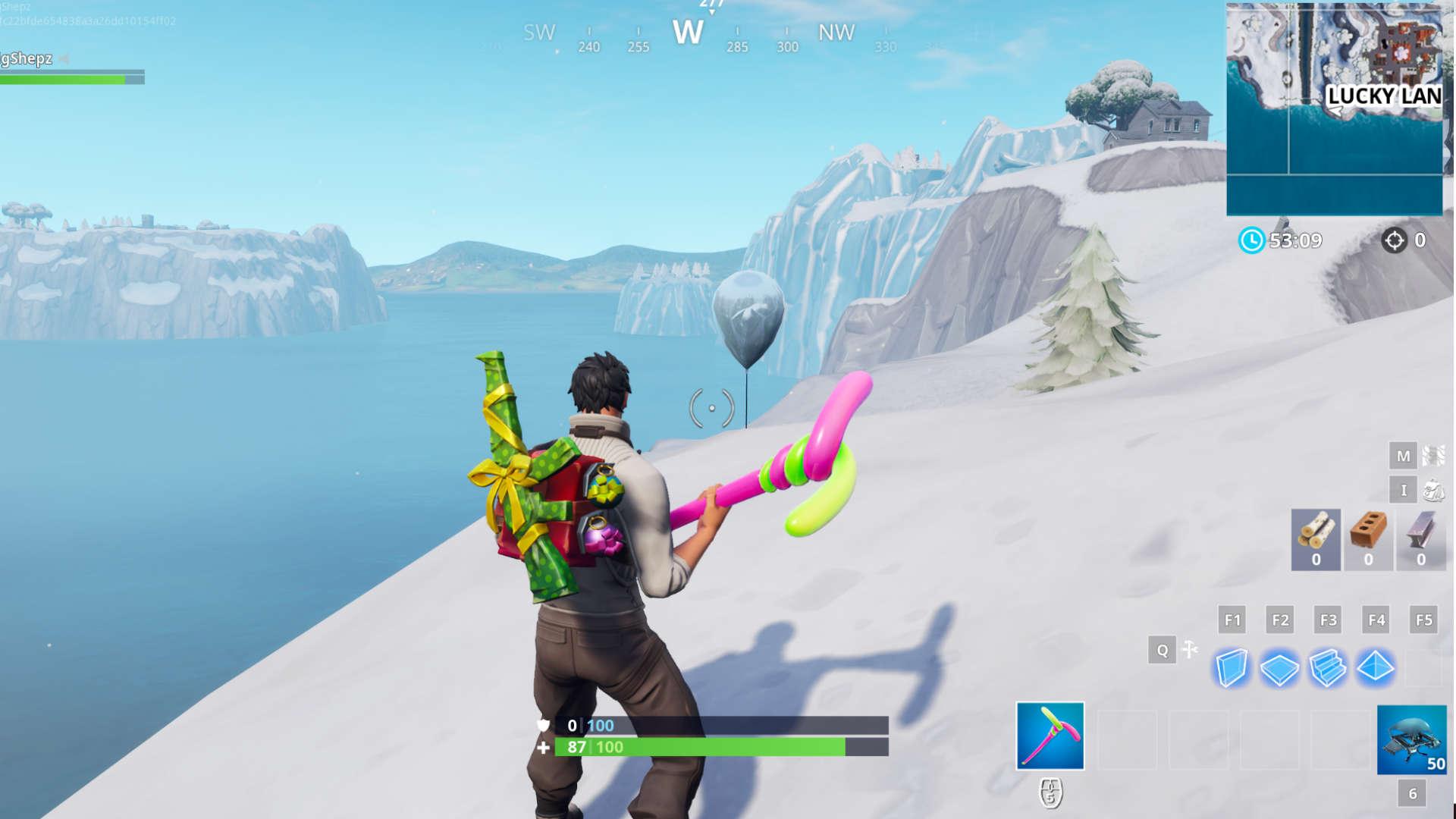 balloons in fortnite