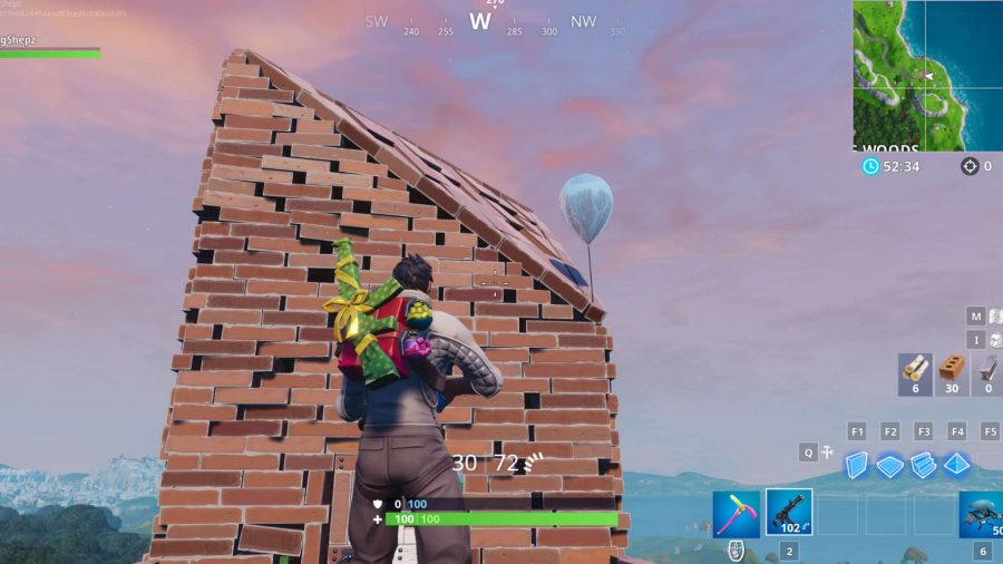 Fortnite golden balloons fort