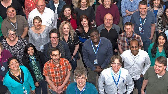 Intel employees