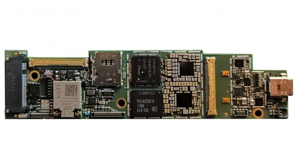 Intel Lakefield board